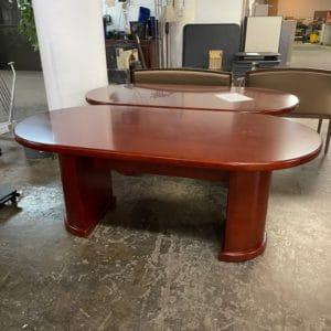 New 6' Wood Veneer Table
