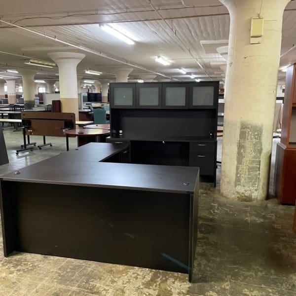 Black Cherry Desk Set