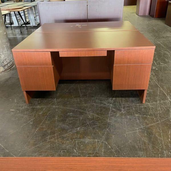 Lacasse Double Pedestal Desk