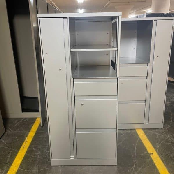 Steelcase Locker and Storage Tower