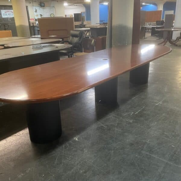 12' Veneer Conference Table