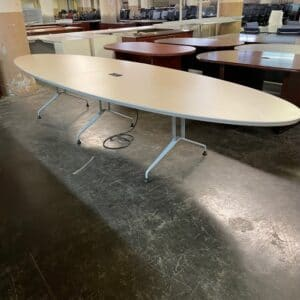 14' Oval Conference Table