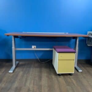 Steelcase Stand-Up Desk w/Mobile Ped