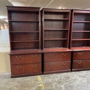 Kimball Lateral File w/Bookcase