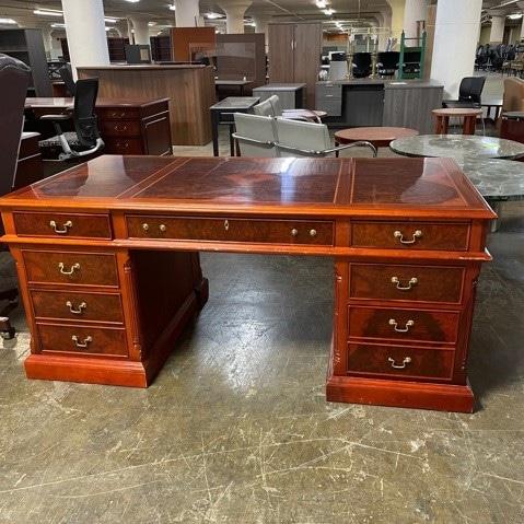 Traditional Wood Desk